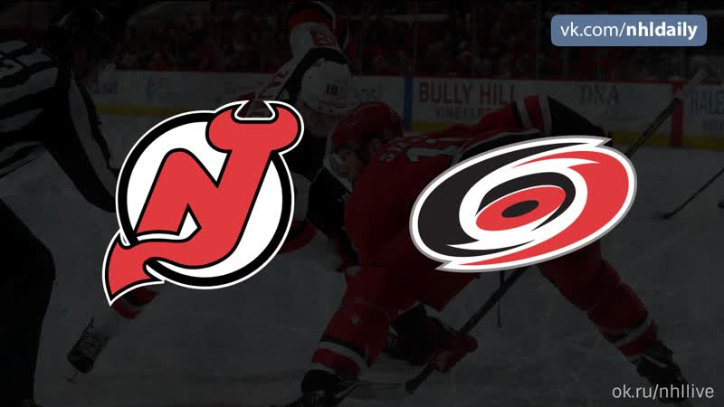 New Jersey Devils – Carolina Hurricanes, 19.11.2018