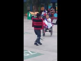 """""""la cueca"""" baile típico chileno."""