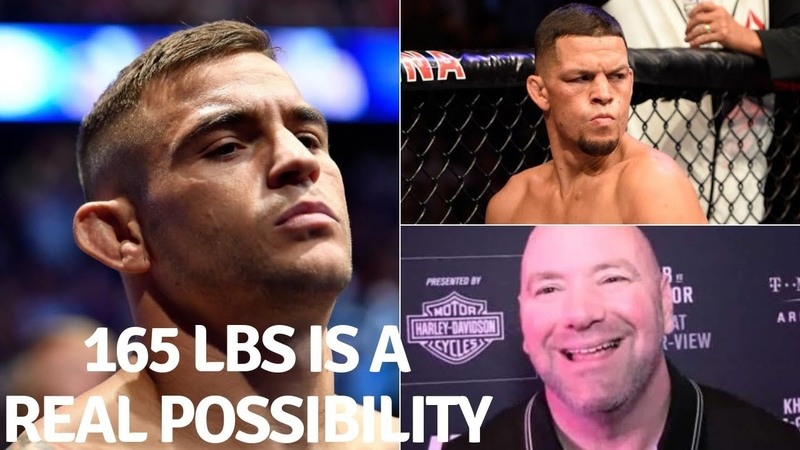 Dustin Poirier There Is A Good Chance Me An Nate Diaz Fight For The 165lb Title