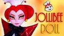 Custom Jollibee Doll 🐝 FAST FOOD OOAK