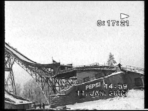 Страшное падение с большого Кавголовского трамплина. Жесть. Ski Jumping
