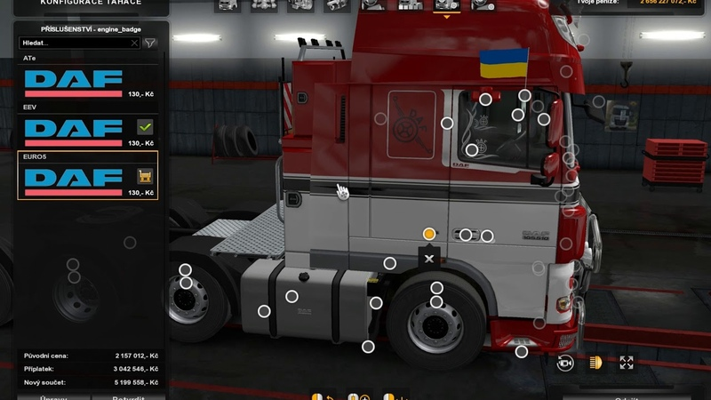 [ETS2]Euro Truck Simulator 2 DAF XF 105 by vadk v 6.1