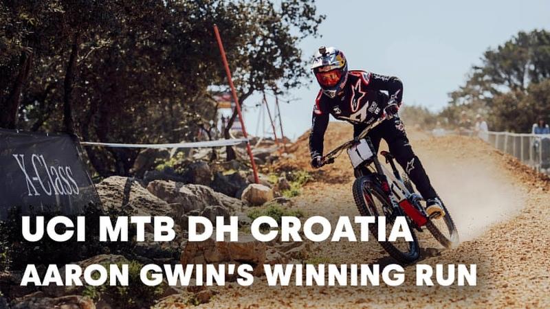 UCI MTB 2018 Aaron Gwin mastered the DH race in Croatia.