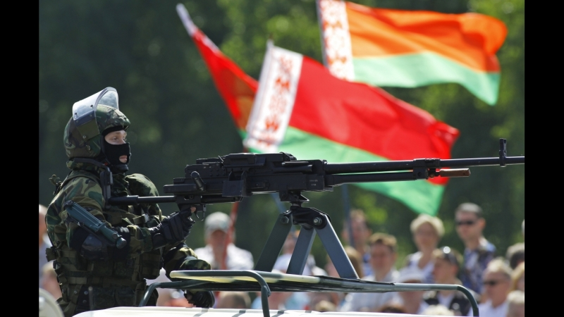 Засада на Беларускую колонну