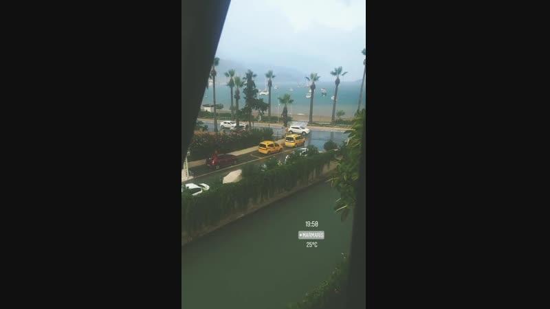 Rainy marmaris