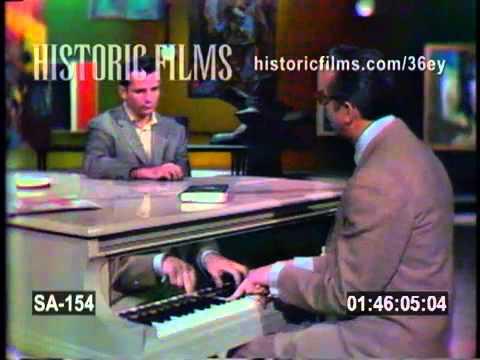 JACK KEROUAC on THE STEVE ALLEN SHOW with Steve Allen 1959