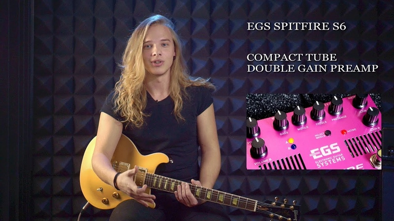 EGS SPIFIRE S6. Double gain compact tube preaamp. (Pavel Popov)