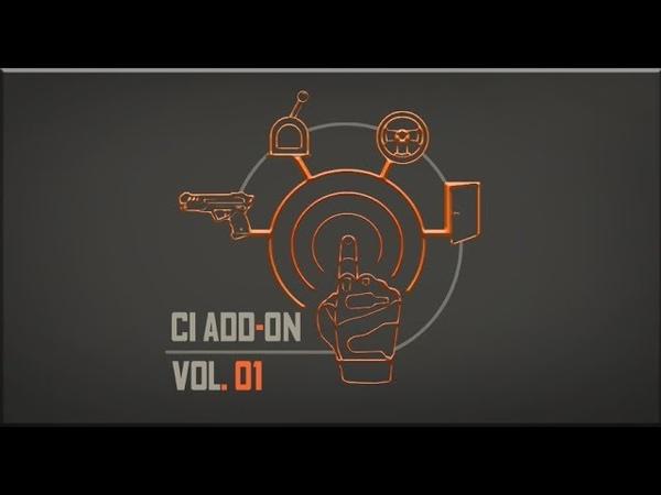 [UE4] - Interaction animation vol.1 (Bombs, crowbar, revolver)..