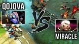 Miracle- Invoker vs qojqva Tinker Mid - M-GOD Back to His Signature Invoker - EPIC Gameplay Dota 2