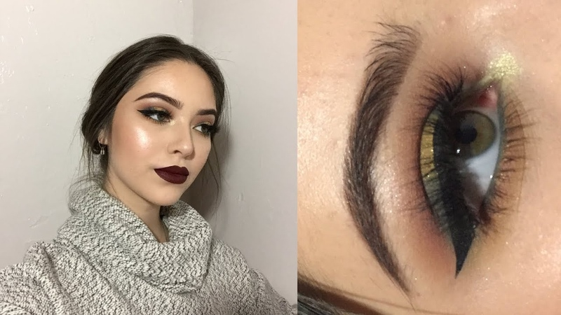 Drugstore Winter Makeup Look