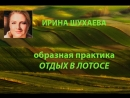 Образная практика Отдых в лотосе с Ириной Шухаевой