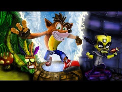 Crash Bandicoot: N. Sane Trilogy | Ночной забег