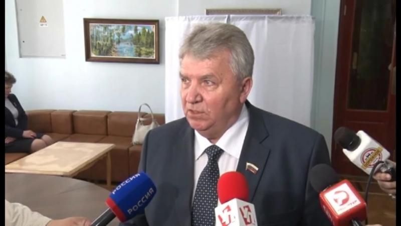 Сергей Панчин избран депутатами Главой города