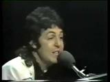 Paul McCartney and Wings _ Maybe I'm amazed live 1972