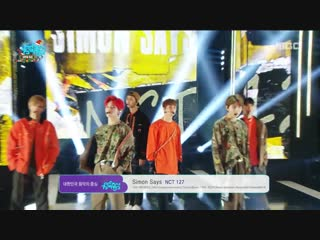 181222 NCT 127 - Simon Says @ Music Core