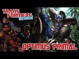 TRANSFORMERS THE BASICS on OPTIMUS PRIMAL
