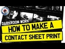 HOW TO MAKE A CONTACT SHEET - 35mm FILM PHOTOGRAPHY