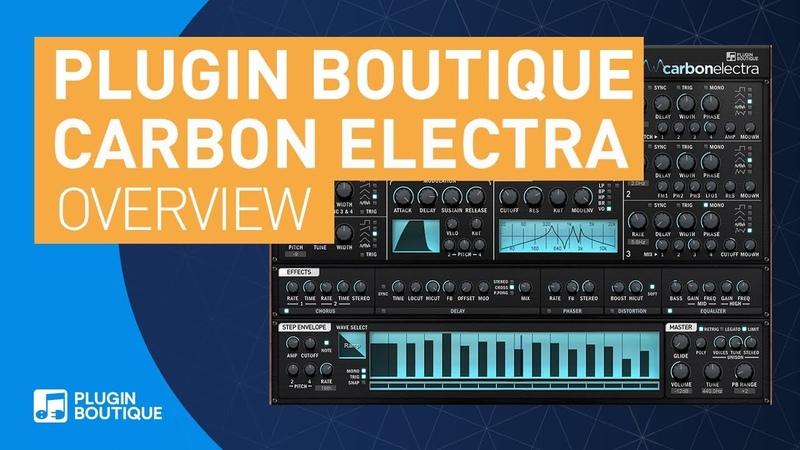 Plugin Boutique Carbon Electra 1.5 | 4 Oscillator Subtractive Synth