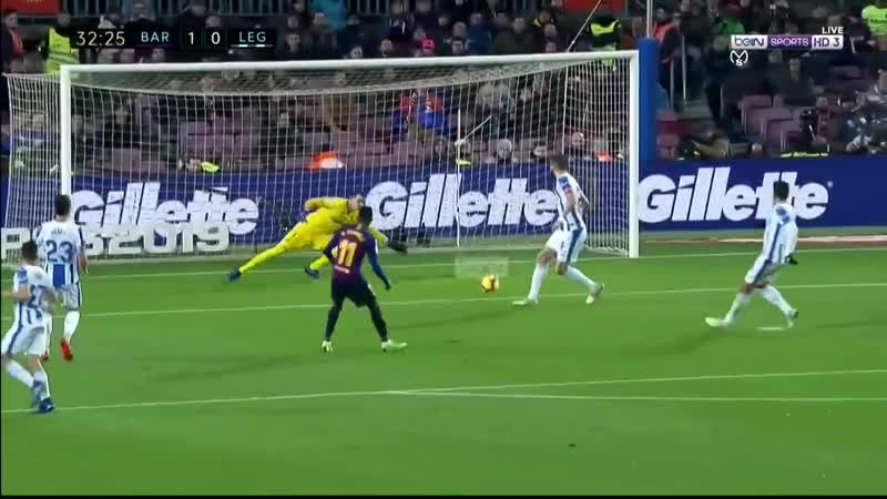 BAR vs LEG 2-1 - Highlights Goals HD - 20_1_2019