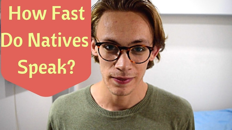 How Fast Do Native English Speakers Talk?