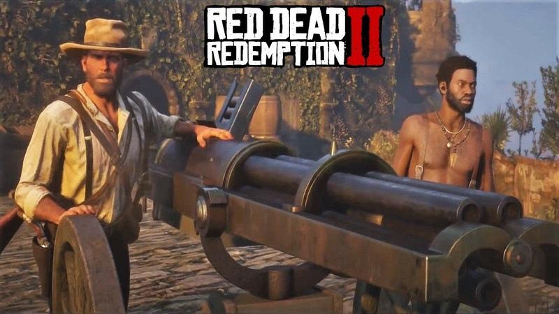Red Dead Redemption 2 - Уничтожение кубинского флота   Кромешный ад   Долгожданное бегство из рая