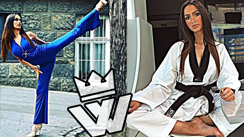 Amazing Taekwondo Girl - Fantastic Kicks/Skills