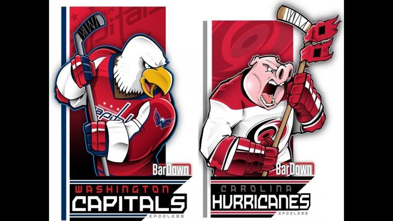 NHL Preseason   Washington Capitals vs Carolina Hurricanes