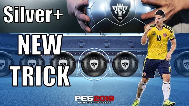 Black Ball Trick in Silver Pack PES 2019 Mobile