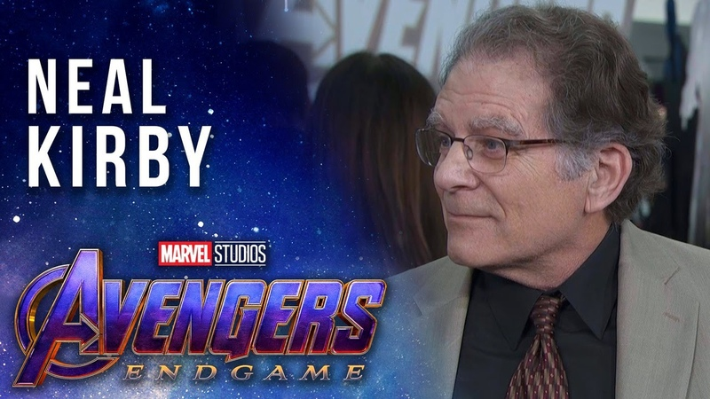Neal Kirby talks about his father, Jack Kirbys, Marvel Legacy at the Avengers Endgame Premiere