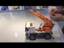 Радиоуправляемый конструктор автокран со стрелой эвакуатор Cada Technics 2 в 1