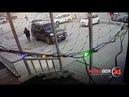 елепый угон дорогого внедорожника попал в объектив камеры наружного наблюдения в Южно-Сахалинске