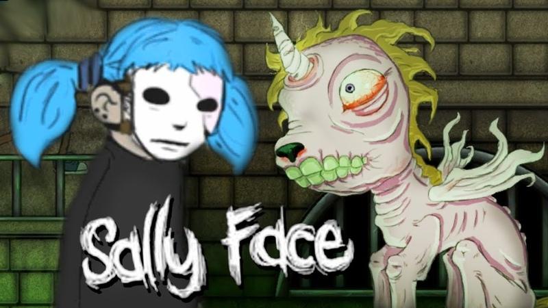 САЛЛИ КРОМСАЛИ И ДОМ ПРИЗРАКОВ Sally Face Ep 2 3