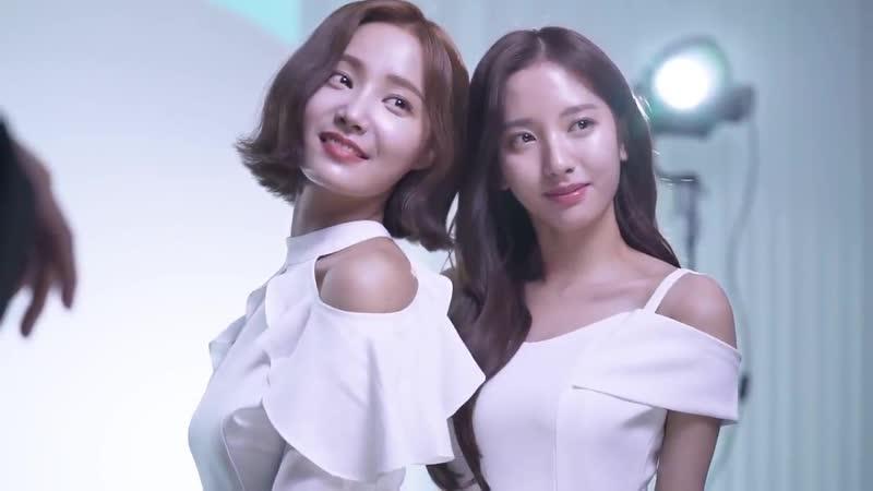 [Making] 190708 Bona and Yeonwoo for THE SAEM @ Bona
