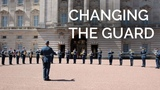 The Royal Canadian Air Force Change the Guard at Buckingham Palace