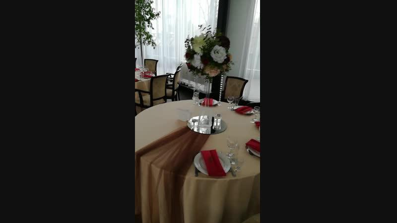 Оформление свадьбы от декоратора Екатерины Холод