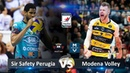 Modena Volley vs Sir Safety Perugia | Highlights | Italian Volleyball Super League