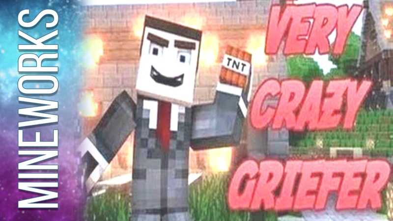 ♫ Very Crazy Griefer - A Minecraft Parody of PSY's GENTLEMAN (Music Video)