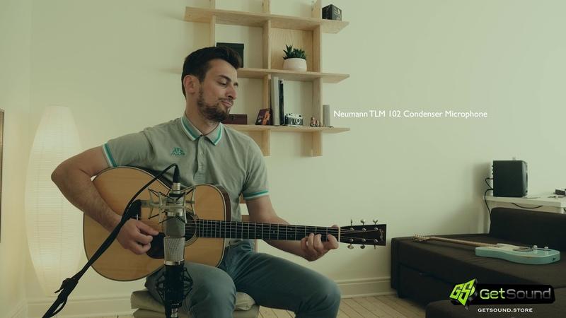 Collings OM2H: Lauten Audio LA 220 vs Neumann TLM 102