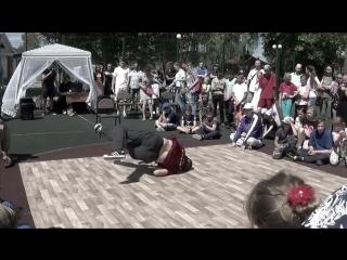Александр Мерзликин. Судейский выход на Фестивале