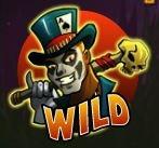 Дикий символ игрового автомата Voodoo Vibes