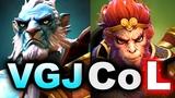 VGJ.STORM vs CoL - GAME OF SWINGS! - TI8 NA QUALIFIER DOTA 2
