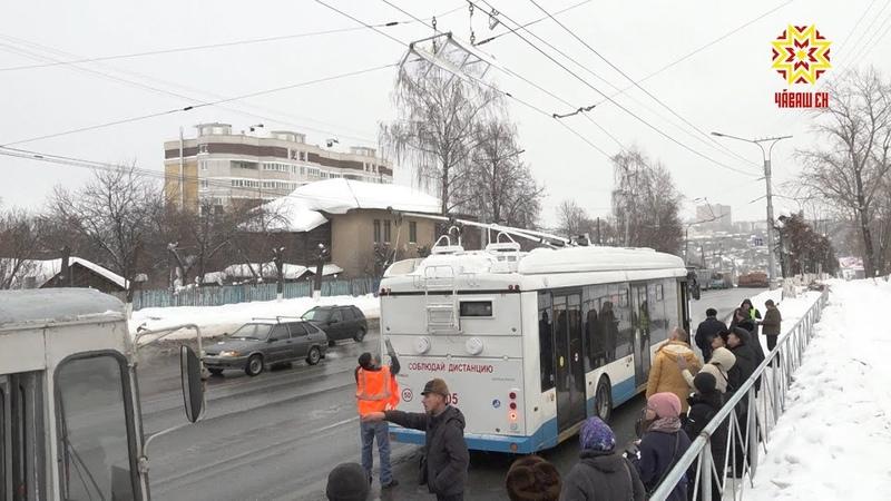 Троллейбусы на автономном ходу начнут ездить по чебоксарским улицам через неделю.