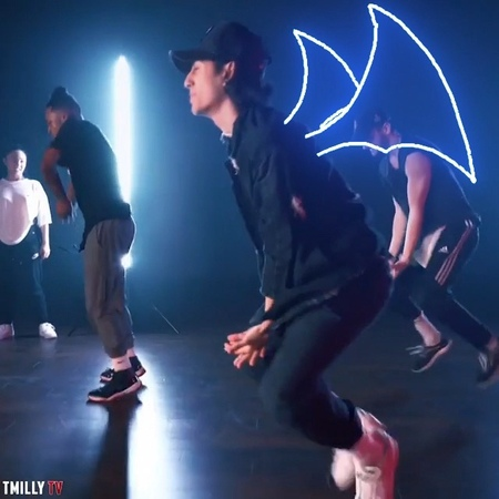 Ofir Shoham on Instagram Animated @juliandeguz13 grooving it out to Baby Be Mine by Michael Jackson ~ back dancers @vee jaay @jakebrandorff ~ fi