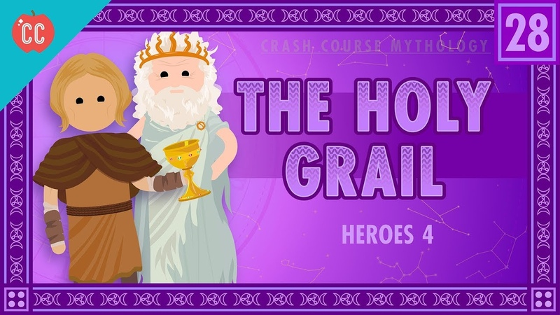 Galahad, Perceval, and the Holy Grail: Crash Course World Mythology 28 » Freewka.com - Смотреть онлайн в хорощем качестве