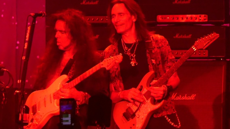 Black Star Steve Vai Yngwie Malmsteen@ Hard Rock Casino Atlantic City 11/30/18