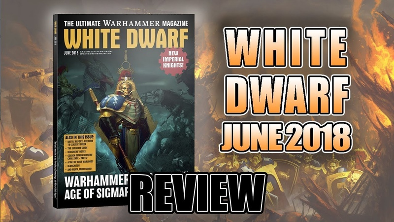 Age of Sigmar 2nd Edition 2.0 Imperial Knights White Dwarf June 2018