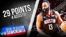 James Harden Full Highlights 2018.12.11 Rockets vs Blazers - 29 Pts, 4 Asts! | FreeDawkins