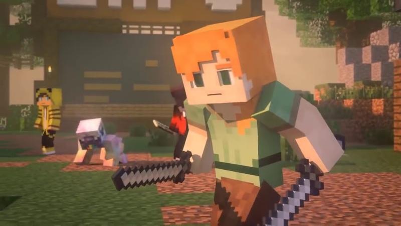 Minecraft Bizim Hikaye Animasyon