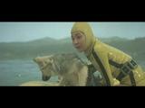 Female scuba diver in yellow rubber wetsuit - Part 1
