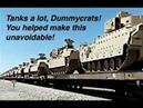Trump Deploys Heavy Tanks and APC's to Arizona Border